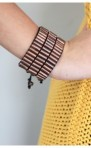 Military 3 row bracelet - Urban Outfitters